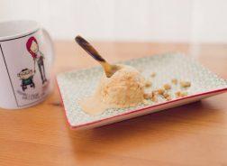 Crème glacée tire éponge pour Louis!
