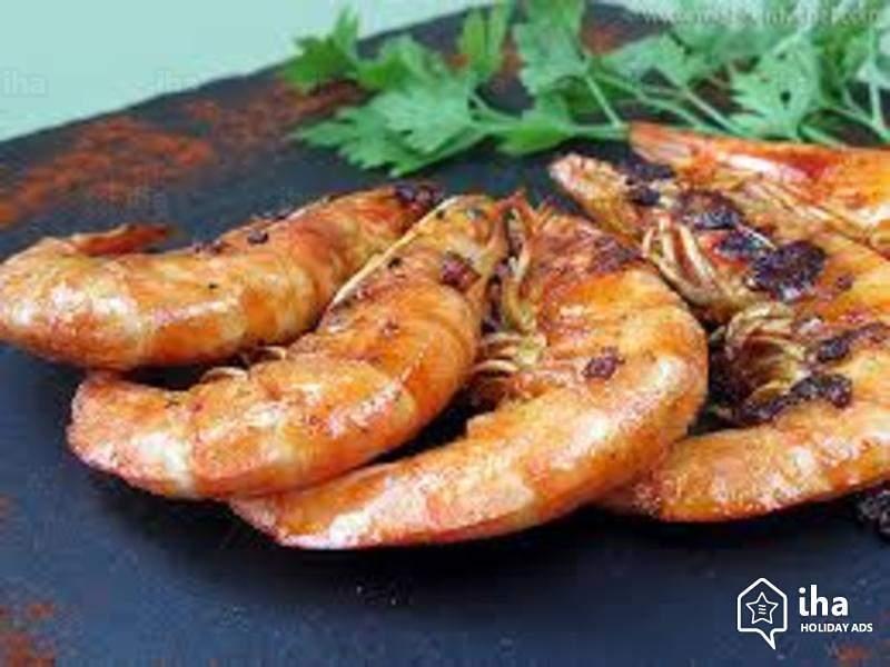 Crevettes sauvages d'Argentine