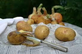 Potatoes skins érable et truite fumée