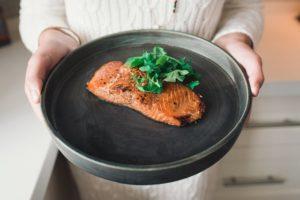 Saumon bio canadien à l'asiatique