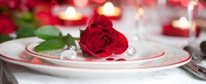 Menu St-Valentin pour 2 - Version Terre