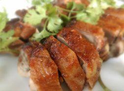 rôti porc